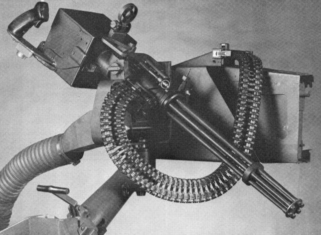 Миниган схема работы. пулемёт гатлинга – герой вестернов, опередивший время