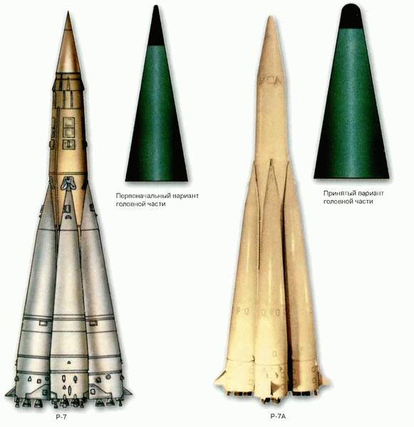 Межконтинентальная баллистическая ракета р-7. досье