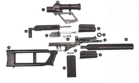 Винтовка снайперская вск-94: краткое описание, характеристики и отзывы