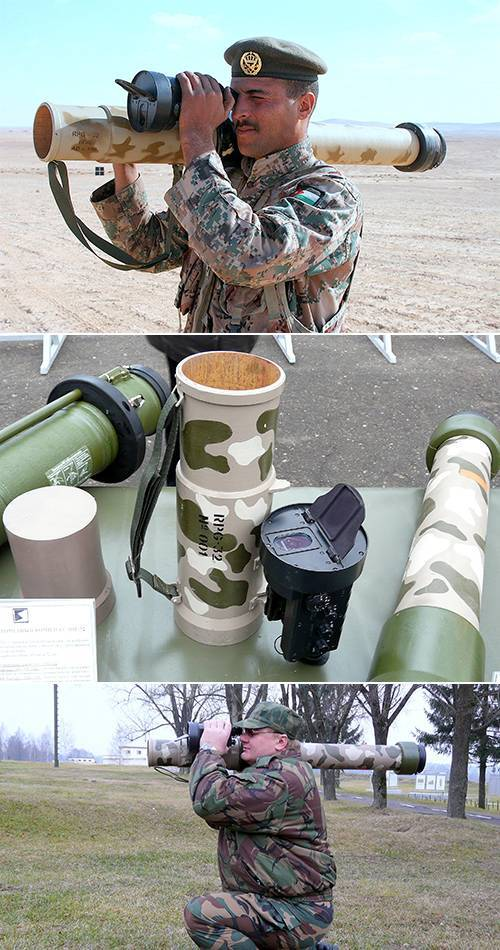 Гранатомет рпг-27 таволга. фото. ттх. устройство