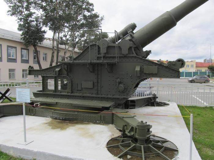 Пушка бр-17 калибр 210-мм фото. ттх. устройство
