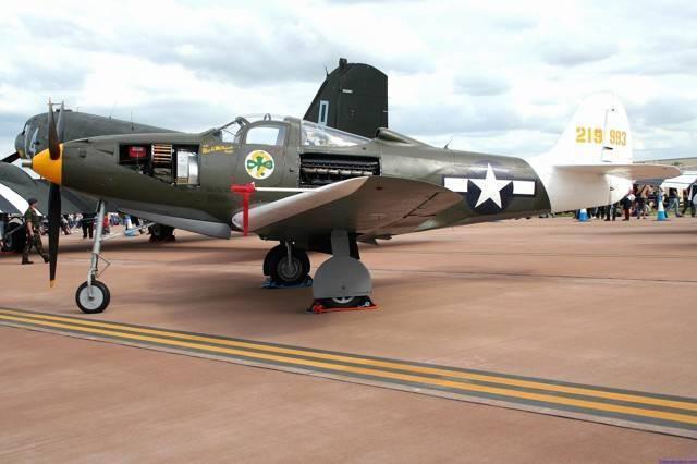 Истребитель Bell P-39 Airacobra – успех вдали от родины