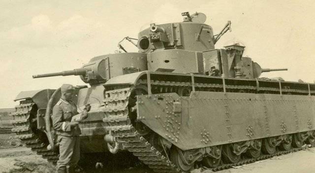 Т-46 – советский колесно-гусеничный легкий танк