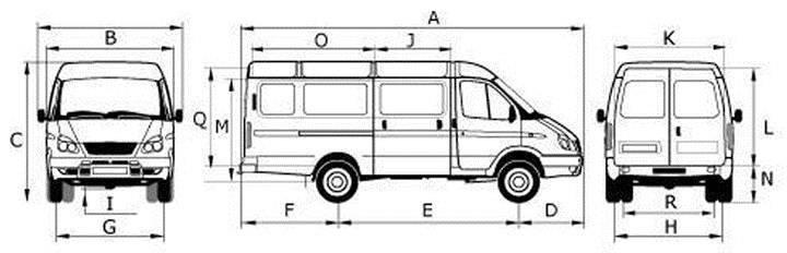 Газ-2752 «соболь»: технические характеристики