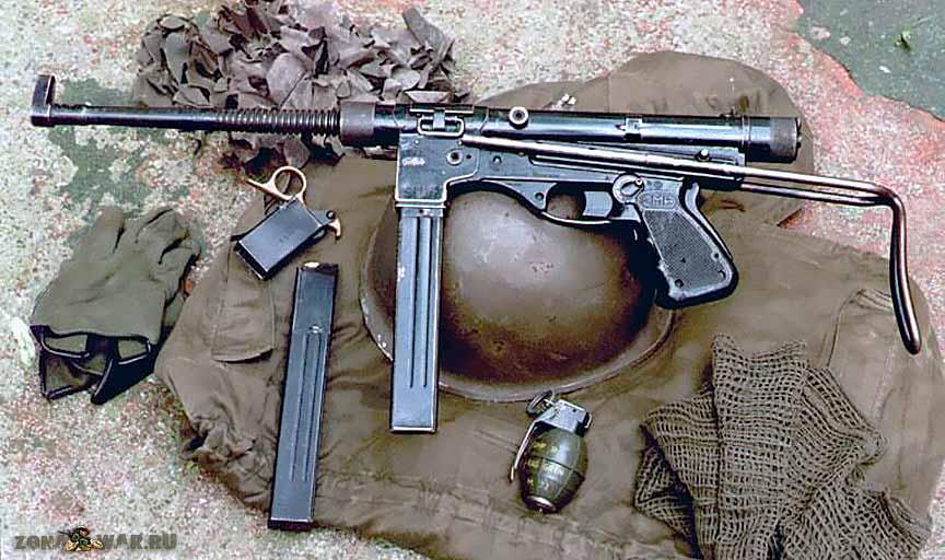 M3 (пистолет-пулемёт) — википедия переиздание // wiki 2