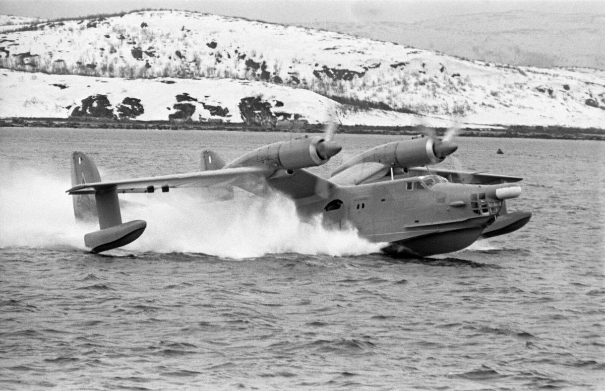 Самолет-амфибия бе-12 «чайка» (7 фото)