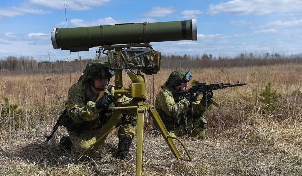 Противотанковый управляемый ракетный комплекс ПТРК Корнет