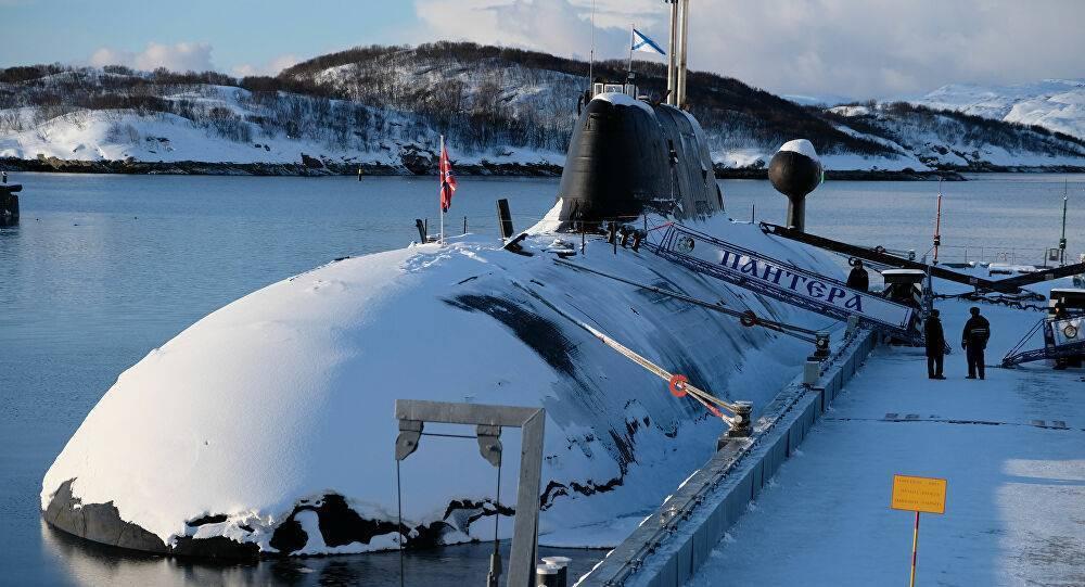 Атомный подводный крейсер 971 «Щука-б» скрытный охотник
