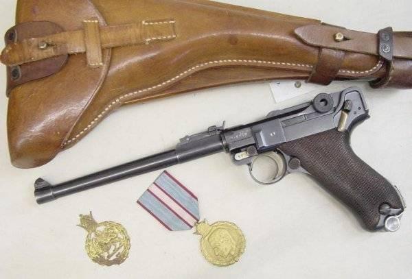 Экспортные модификации пистолетов люгера — характеристики, фото, ттх