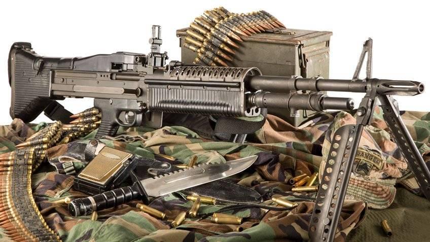 Современное оружие сша: пулемет м60