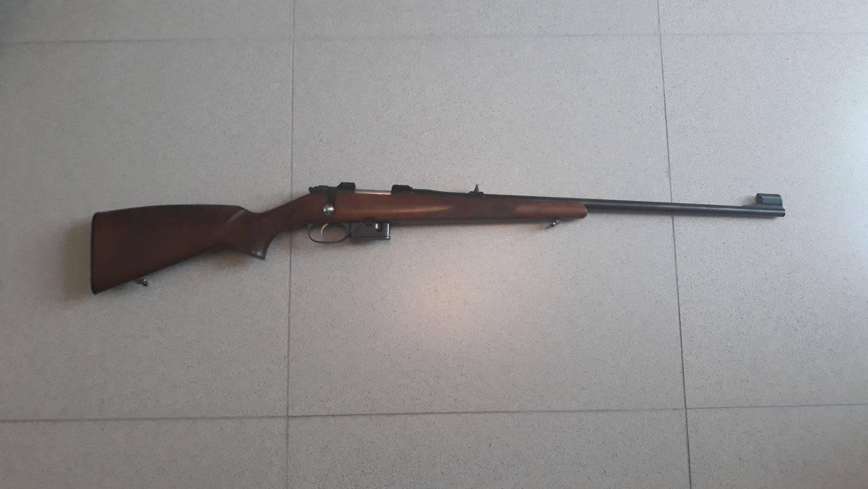 Компактная магазинная винтовка CZ 527
