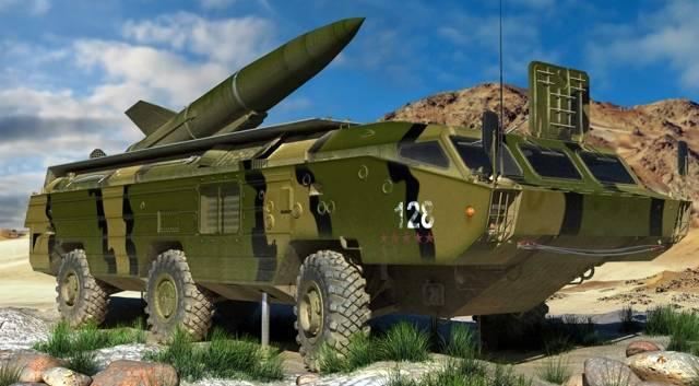 Точка (тактический ракетный комплекс) — википедия переиздание // wiki 2