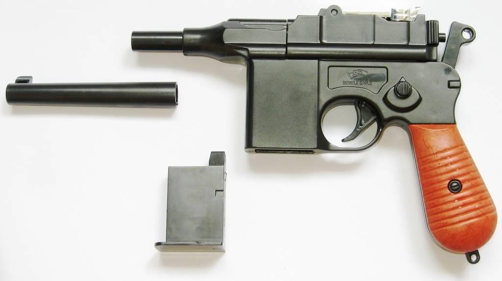 Пистолет маузер к96 (mauser c96)