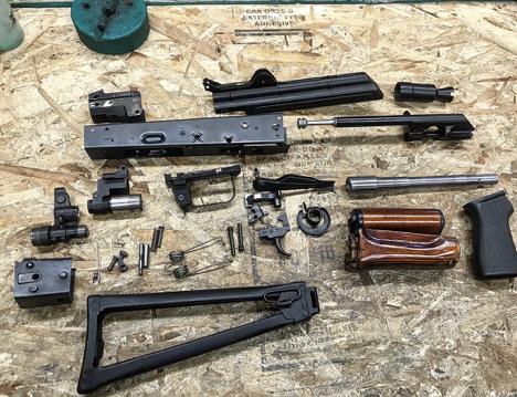 Видео: штурмовая винтовка ак-5c