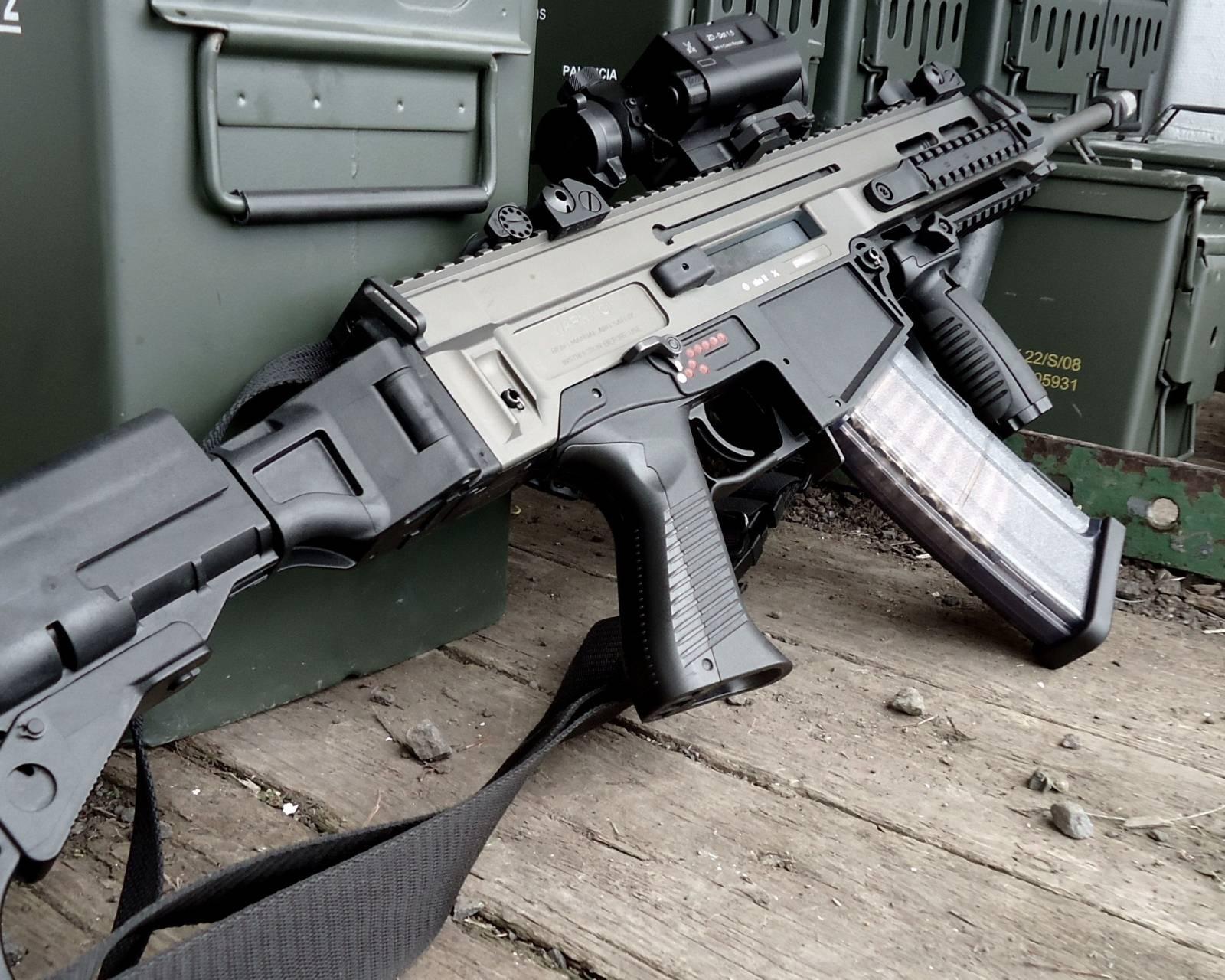 Штурмовая винтовка CZ 805 BREN
