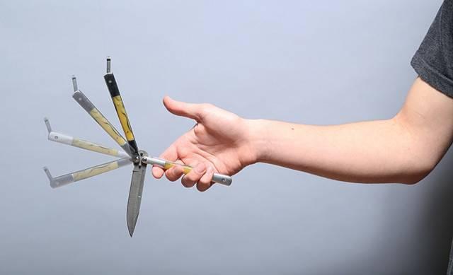 Балисонг, филиппинский нож-бабочка