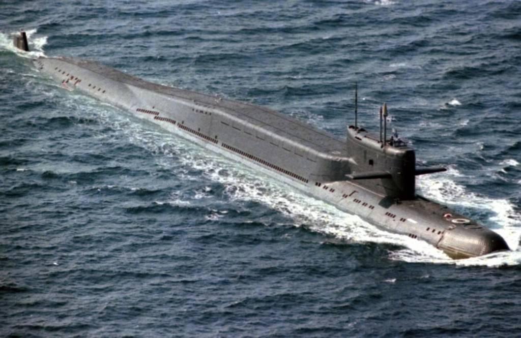 Подводные лодки типа «акула» проекта 941 - технические характеристики и вооружение