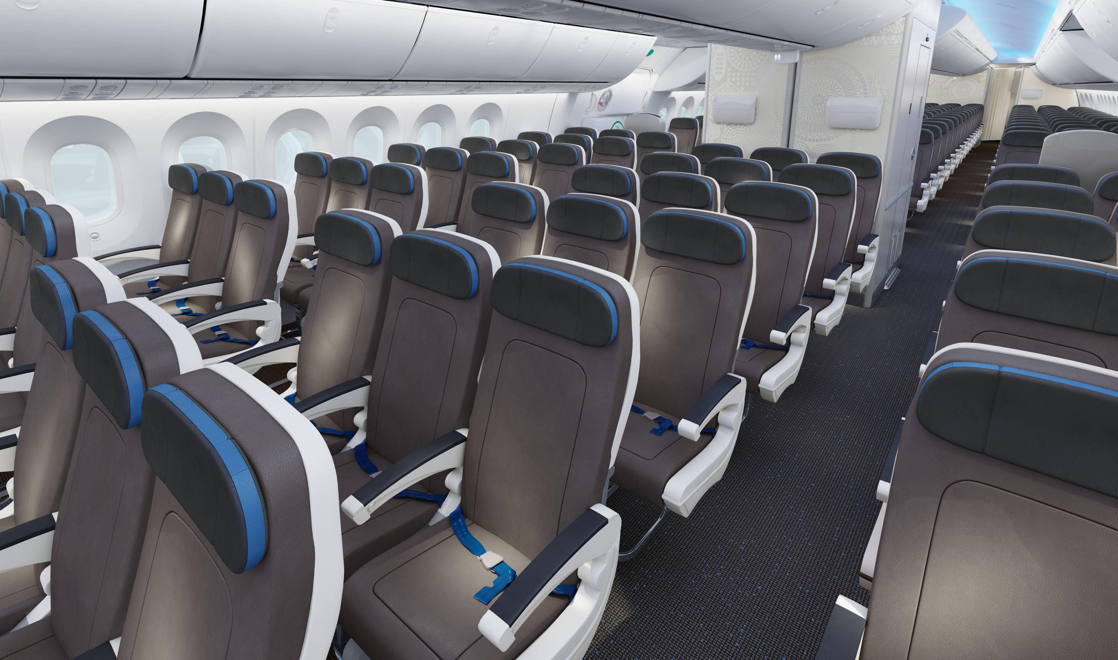 Все о салоне boeing 787 900 dreamliner: схема лучших мест в самолете