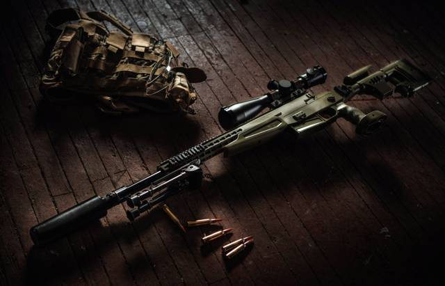 Снайперская винтовка IWI DAN .338