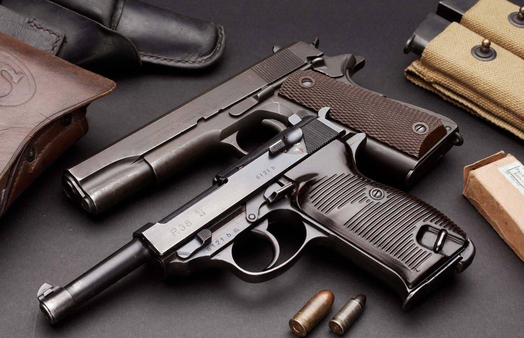 Пневматический пистолет umarex walther p38 – пневмокапут из далекого прошлого