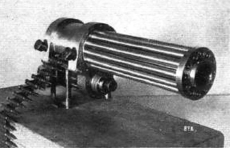 Пулемет системы гатлинга. карусель смерти: пулемет гатлинга