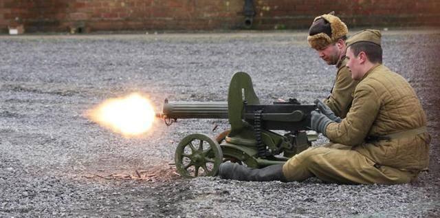 Пулемет максим образца 1910/30