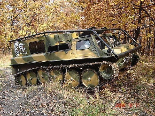 ГАЗ-71 – гусеничный «жужик»