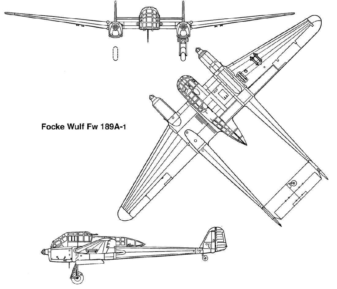 Focke-wulf fw 189 - focke-wulf fw 189