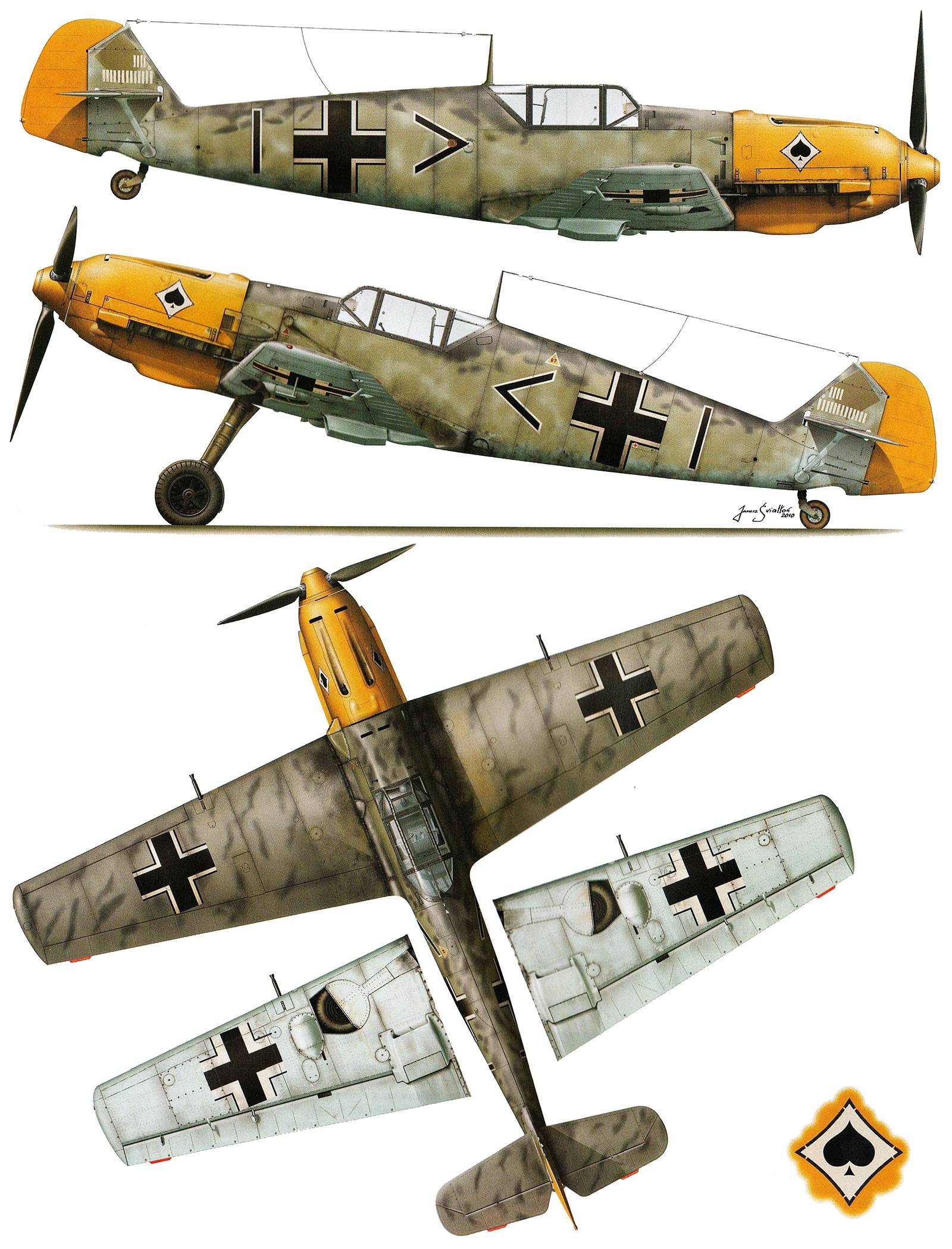 Messerschmittbf109b