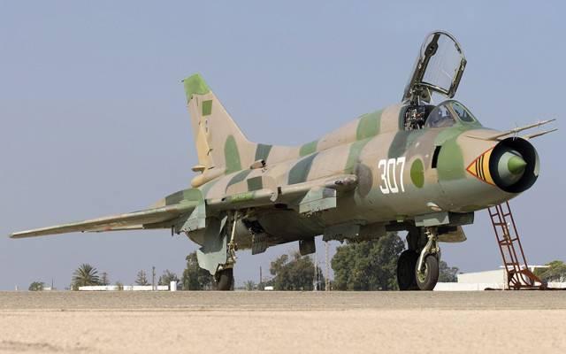 Су-17 – «монтажник» с крылом изменяемой геометрии