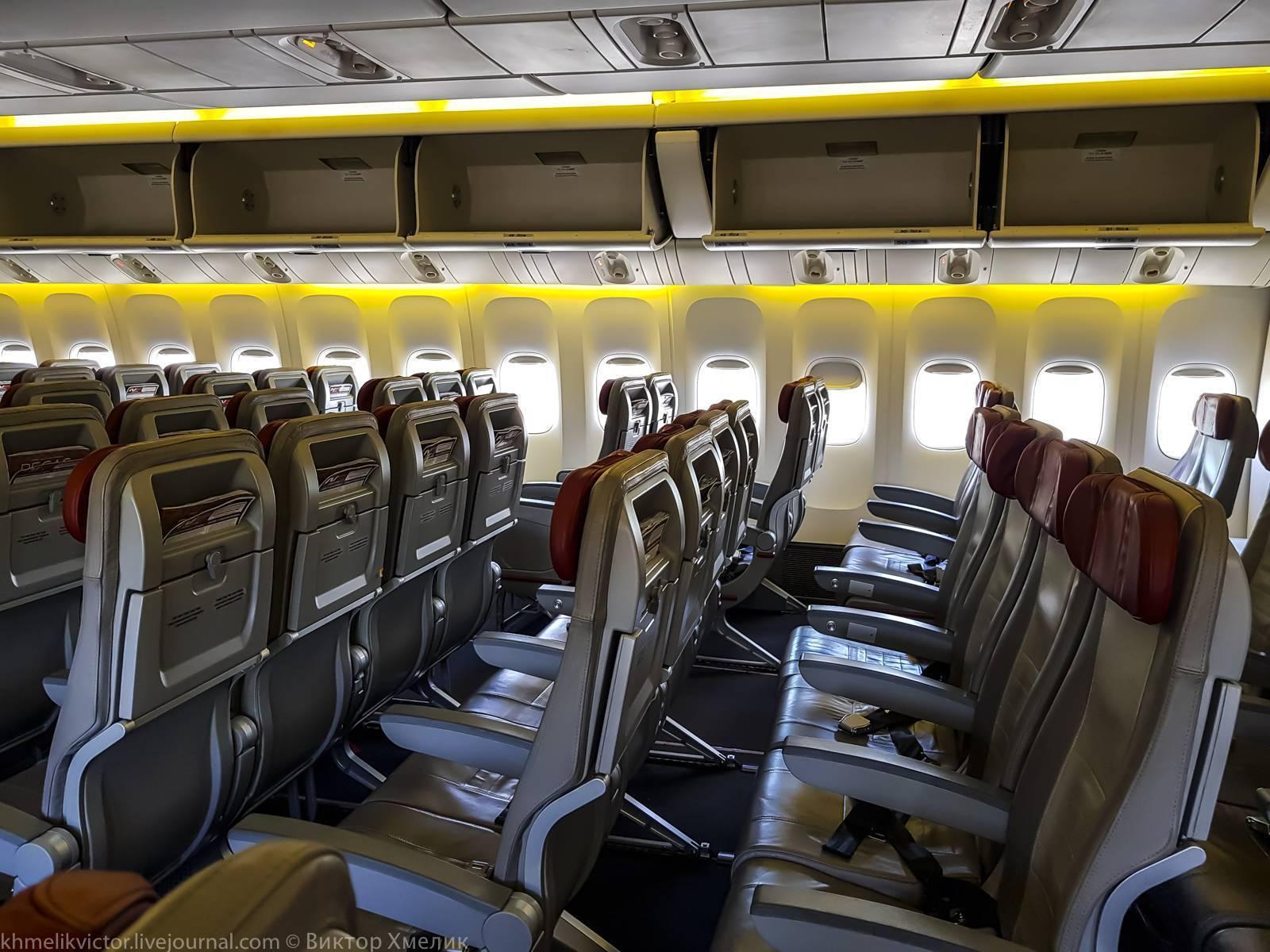 Boeing 777-200er: схема салона, лучшие места