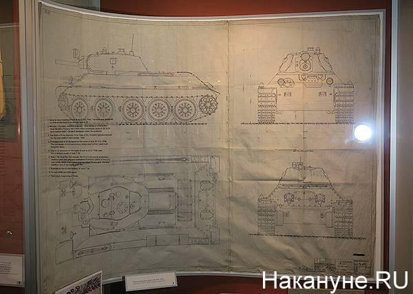 Конструктор танка т-34 м.и. кошкин и вятка