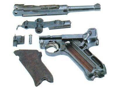 История легендарного оружия : парабеллум, автоматический самозарядный пистолет люгера (5 фото)