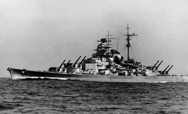 Немецкий линкор тирпиц - german battleship tirpitz - qwe.wiki