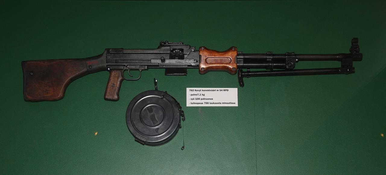 Пулемет дегтярева