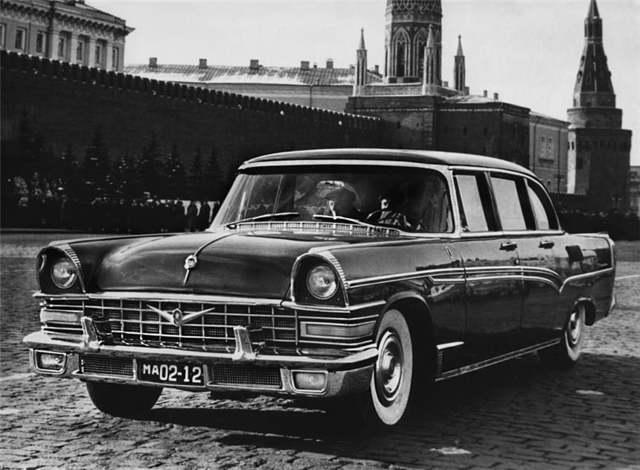 ЗиЛ-111 – лимузин эпохи «оттепели»