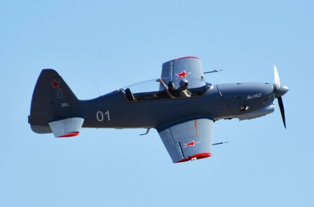 Новый учебно-тренировочный самолет як-152