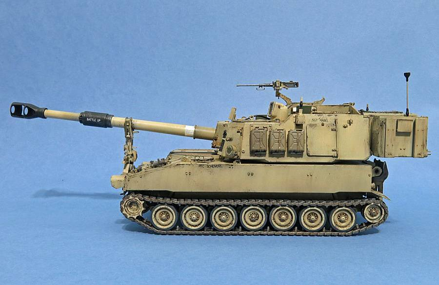155-мм самоходная гаубица paladin