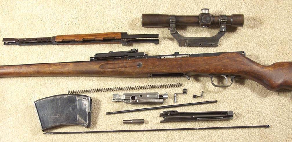 Автоматическая винтовка симонова википедия