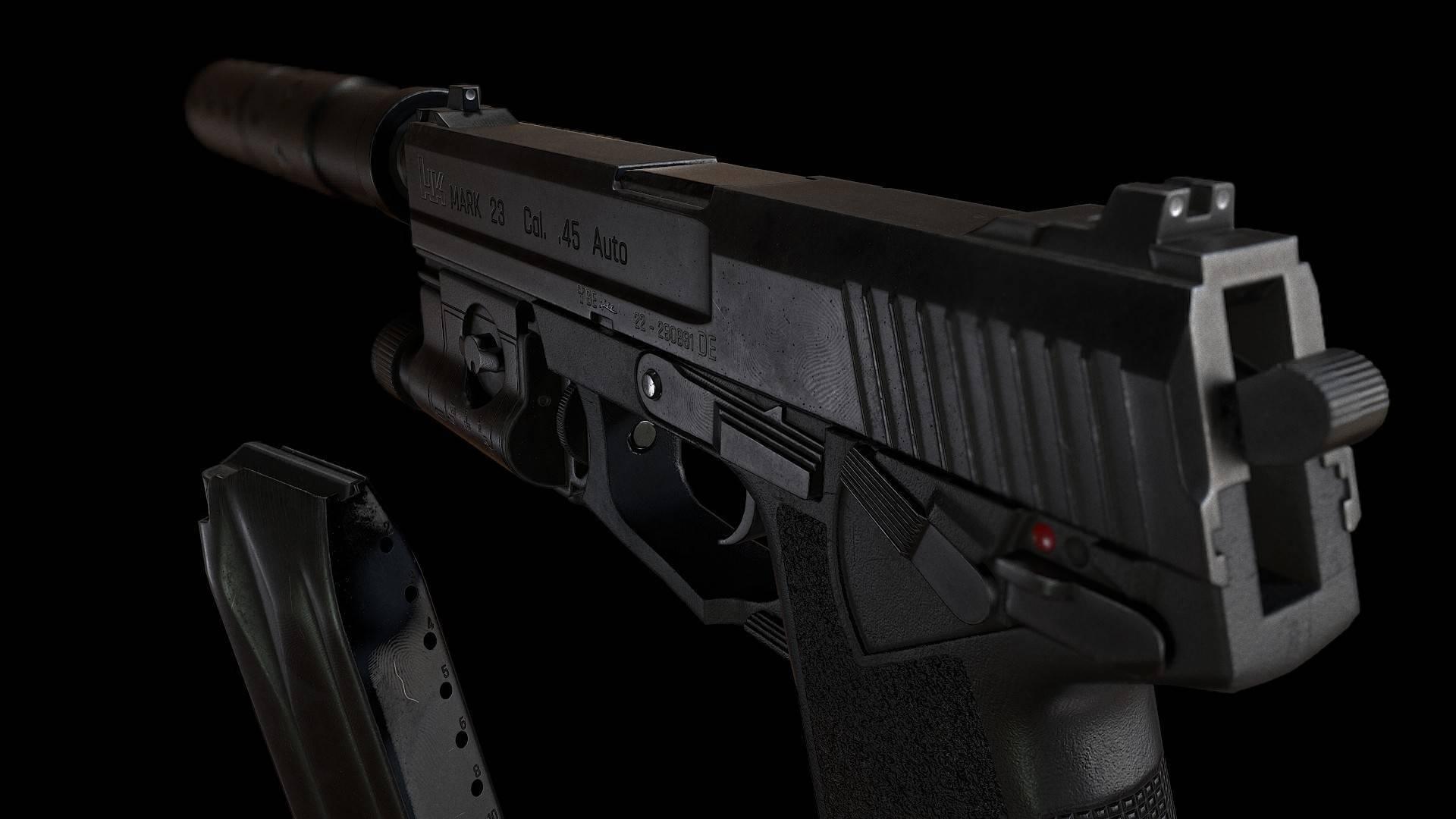 Пистолет hk mk. 23