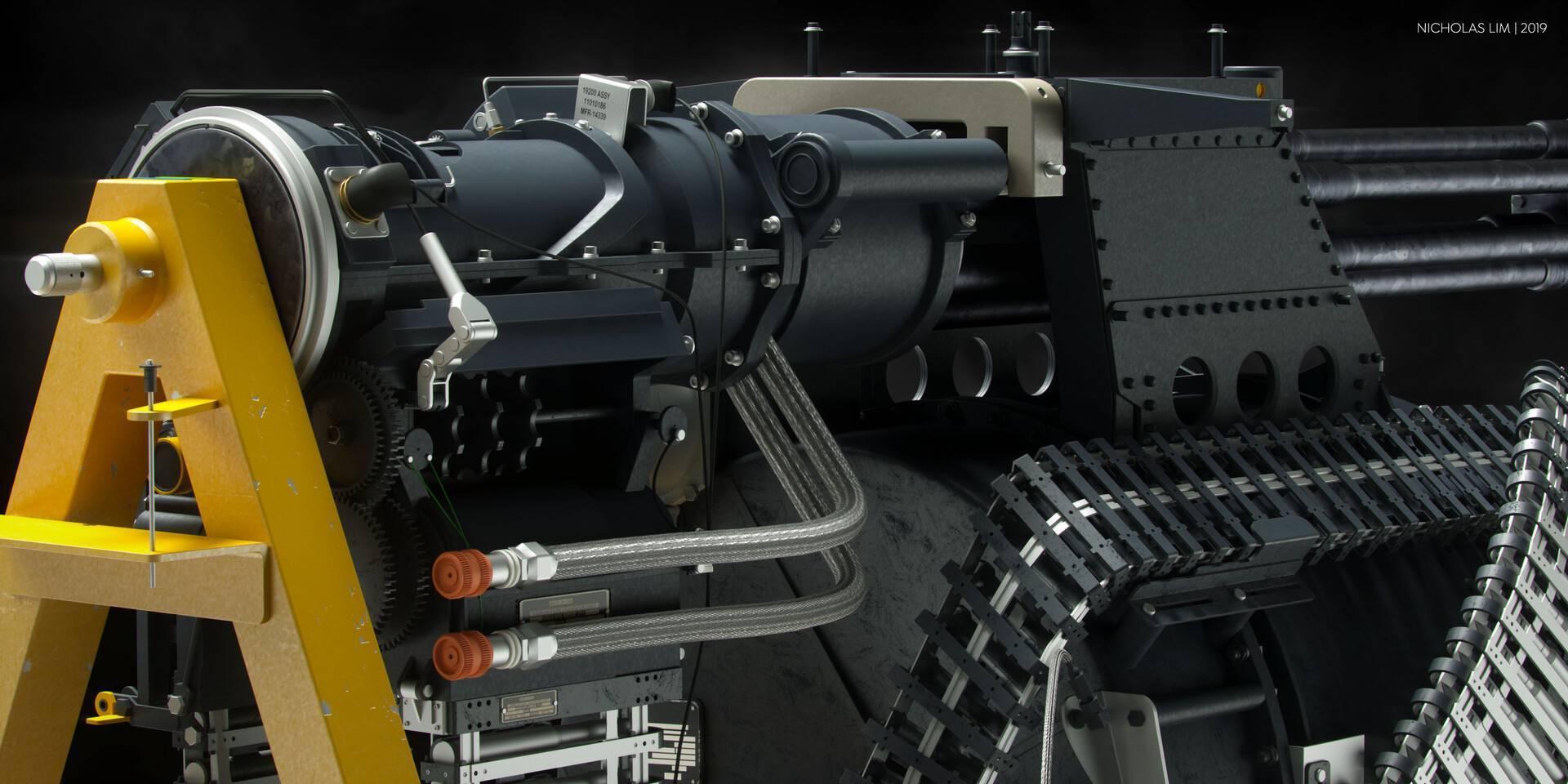 Пулемет «вулкан» – электропривод и шесть смертоносных стволов. авиационная пушка m61 vulcan – второе рождение системы гатлинга авиационная пушка вулкан