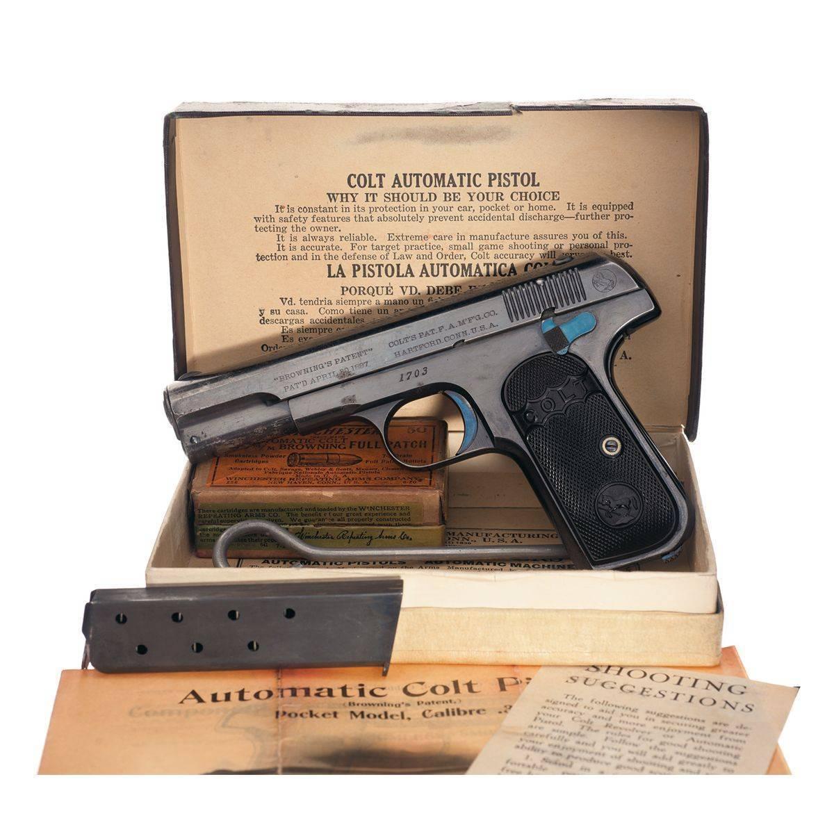 Colt m1902 — википедия переиздание // wiki 2