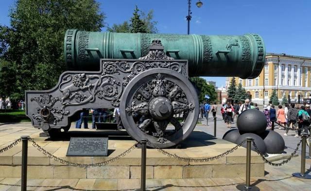 Царь-пушка — википедия с видео // wiki 2