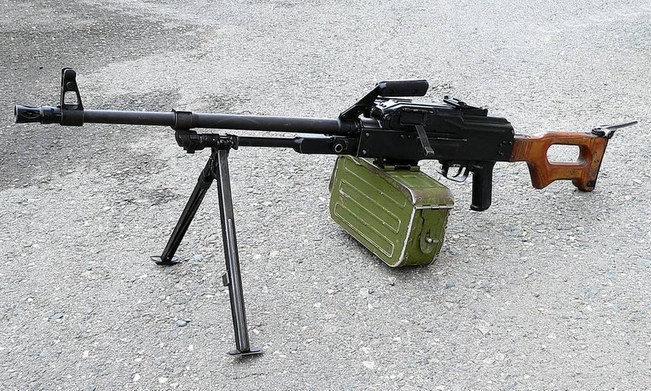 Пулемет калашникова пехотный. печенег: древний воин на новой службе