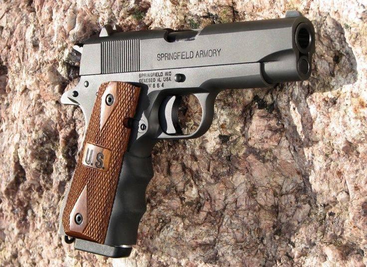 Пистолет springfield armory operato