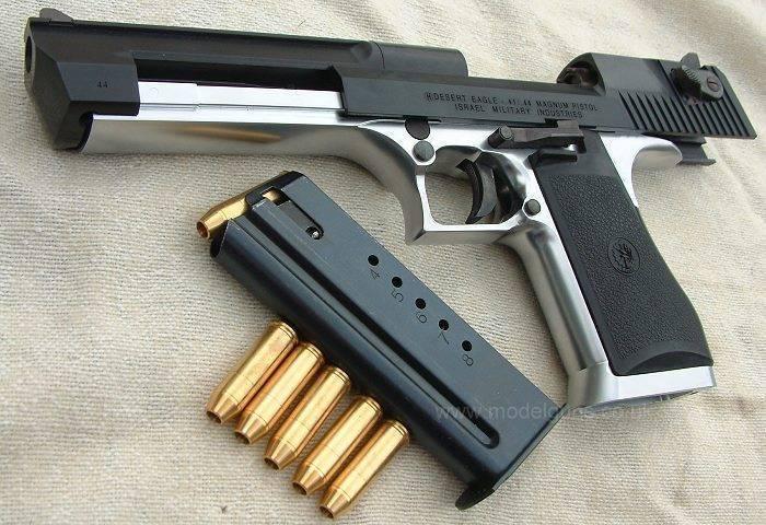 Дезерт Игл (Пустынный Орел) - пистолет Магнум 50 калибра