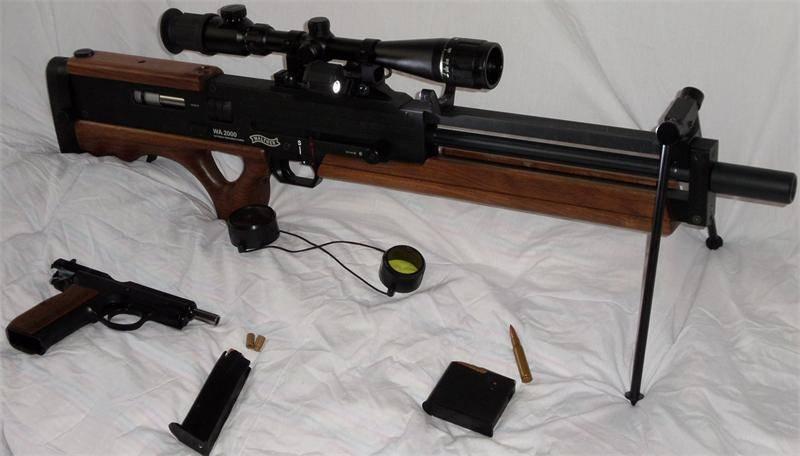 Walther wa 2000 — википедия. что такое walther wa 2000