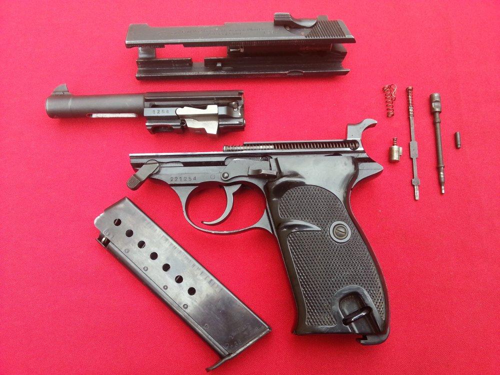 Пистолет walther p 38