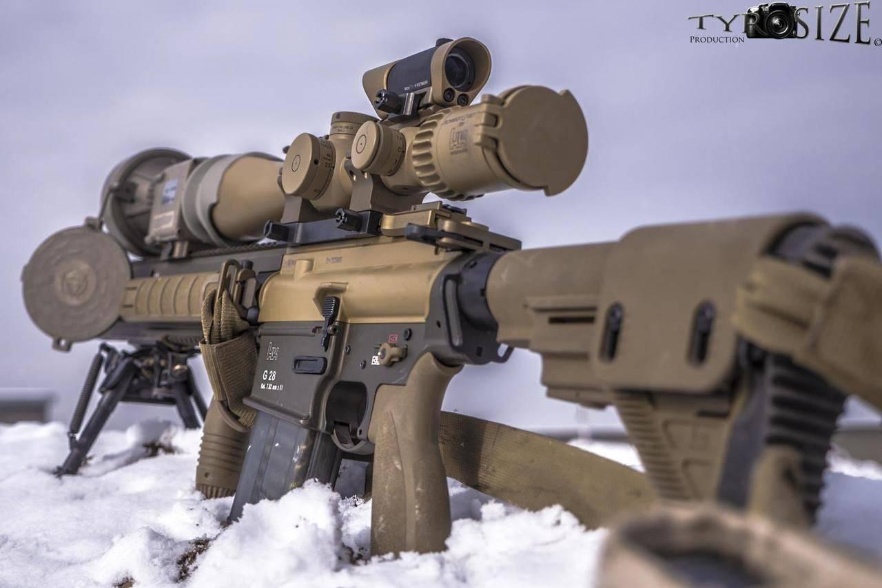 Штурмовая винтовка heckler & koch g11