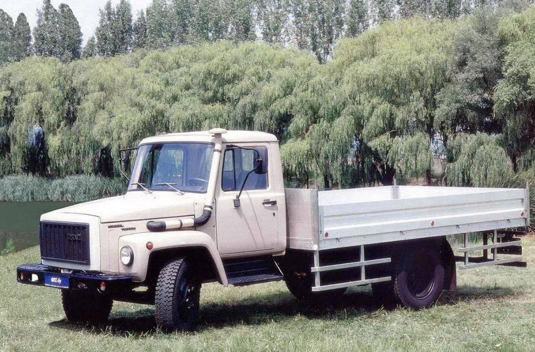 Самосвал газ-3307